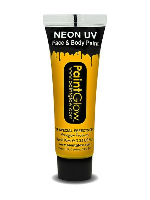 Neon UV - Face and Body Paint - Orange 2